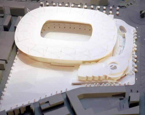 Proyectos del estadio del Valencia arena 1