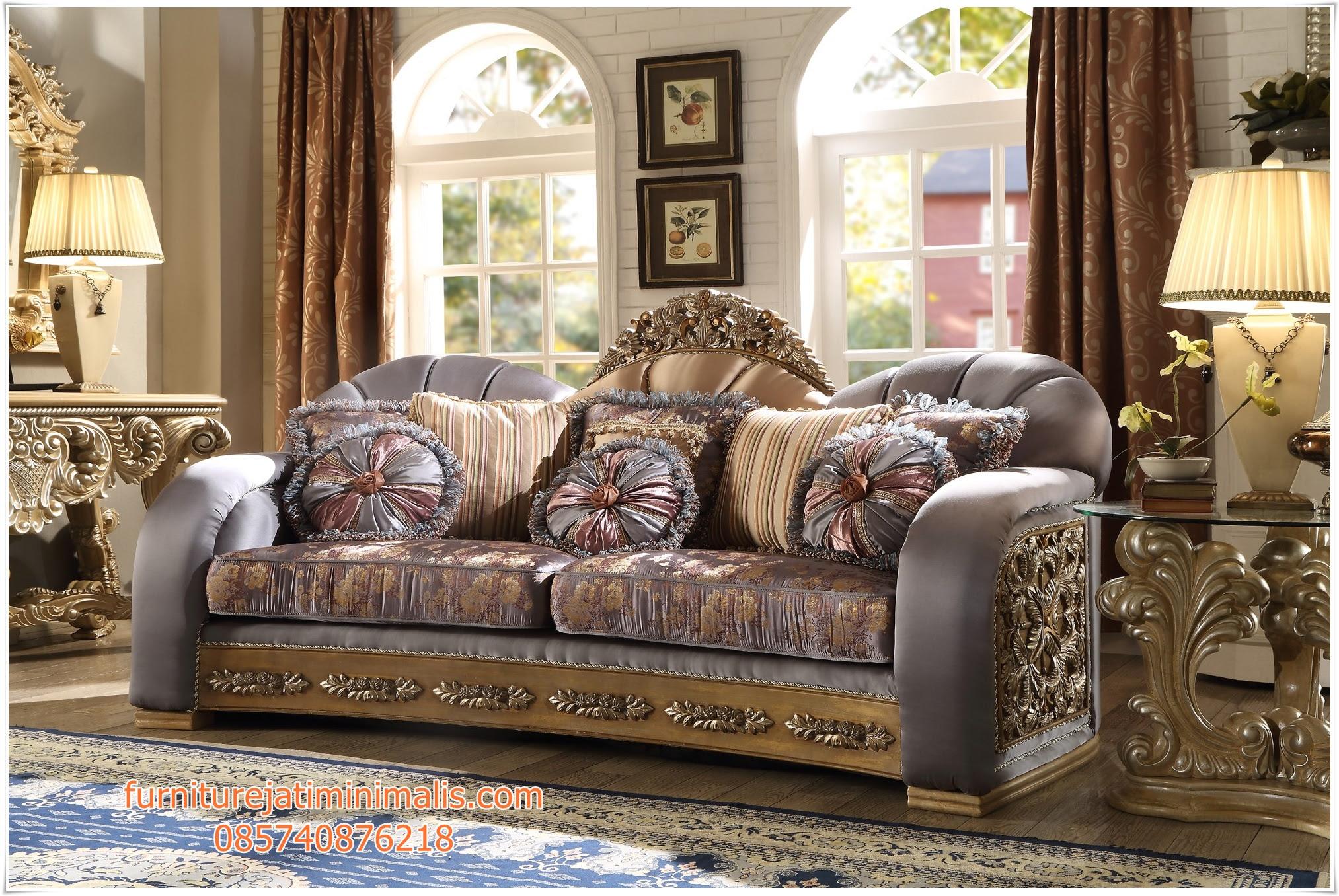 Sofa Mewah Ruang Tamu Klasik Sofa Mewah Set Sofa Ruang Tamu
