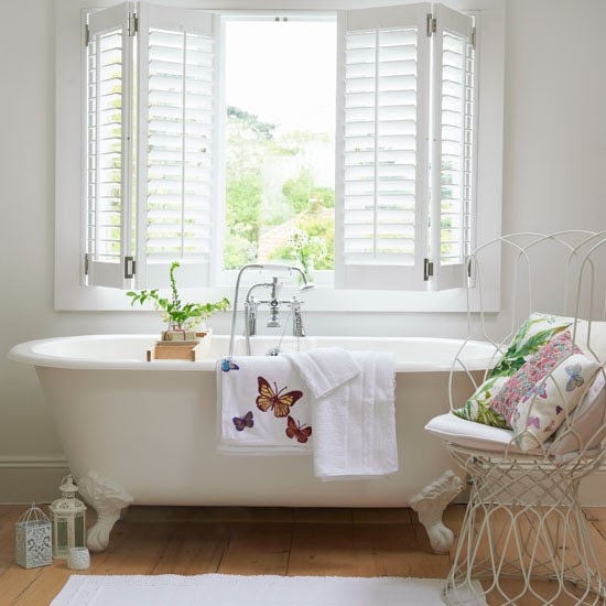 Key Interiors By Shinay Transitional Bathroom Design Ideas: Country Bathroom Interiors