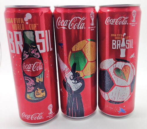 2014 FIFA World Cup BRASIL 355 ml Coca-Cola  UAE and Oman by roitberg