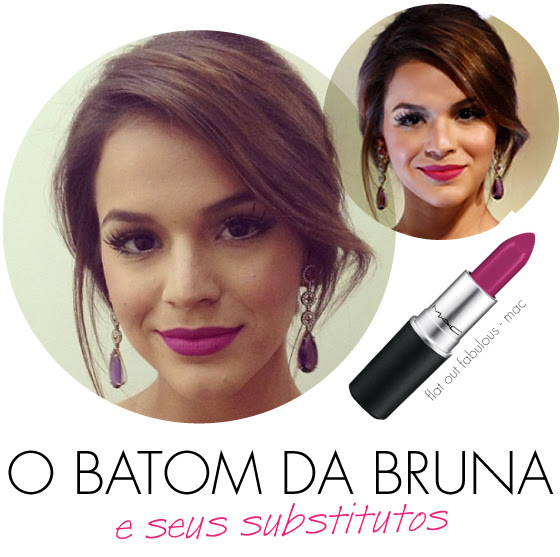 batom-bruna-marquezine-em-familia-festa-novela-dolce--gabbana-floral-vestido-flat-out-fabulous-mac-retro-matte-