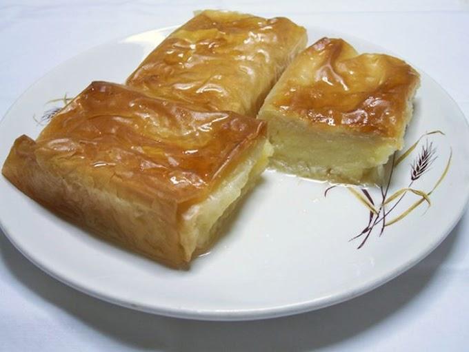 Αγιορείτικη συνταγή: Γαλακτομπούρεκο