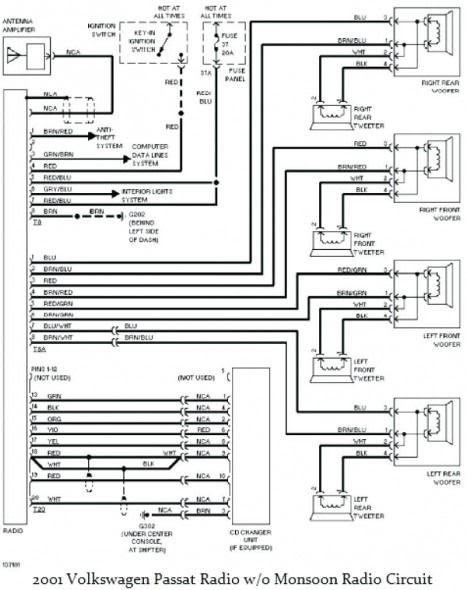 vw monsoon wiring diagram   wiring diagrams fate pure  wiring diagram library
