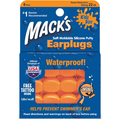 Mack's Kids Pillow Soft Ear Plugs - 6 pairs