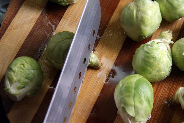Salteado de Vegetales, jamón y Almendras (2)
