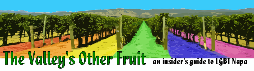 The Valley's Other Fruit   an insider's guide to Gay and LGBT Napa Valley