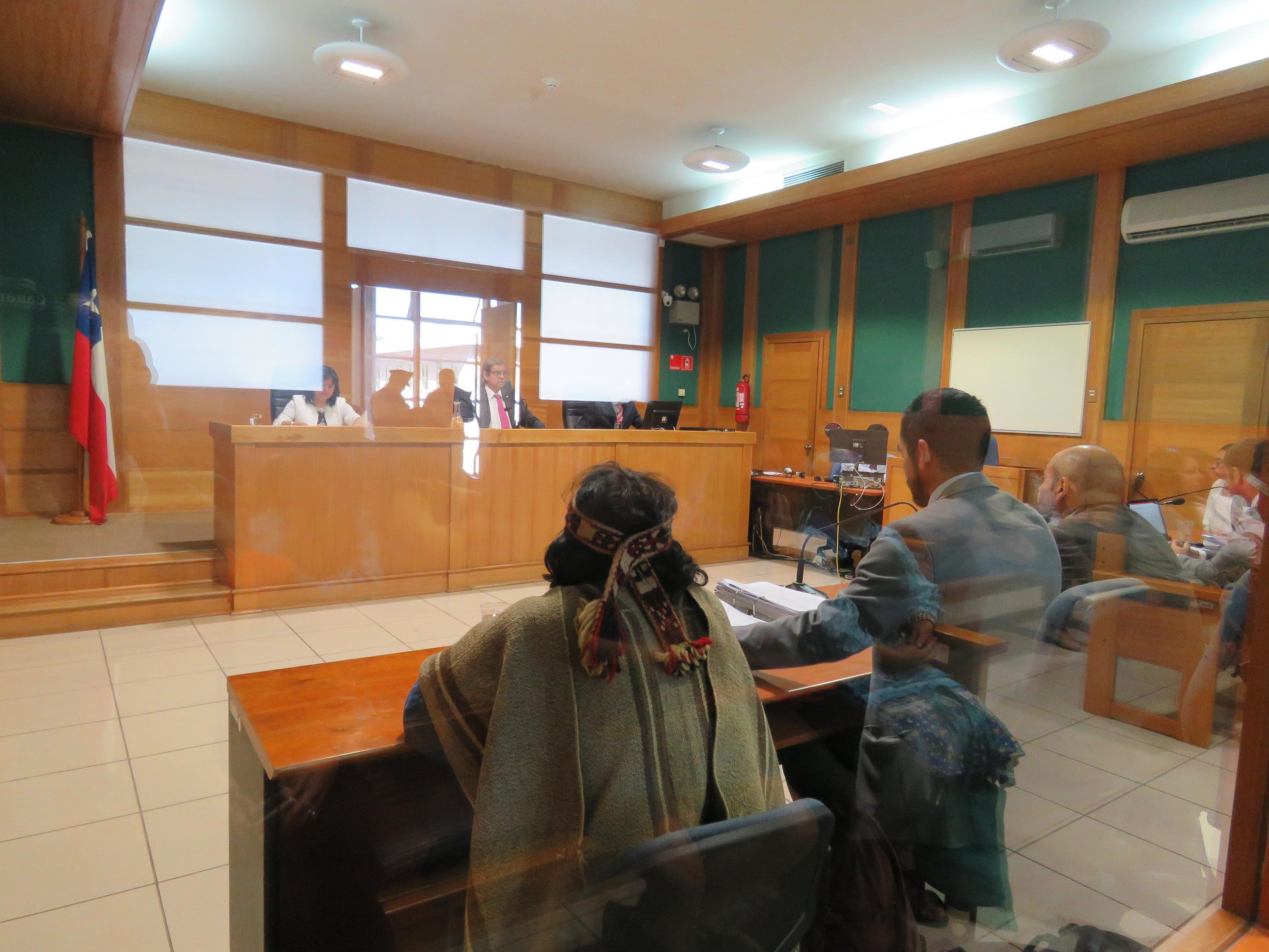 Juicio a Guido Curihuentro