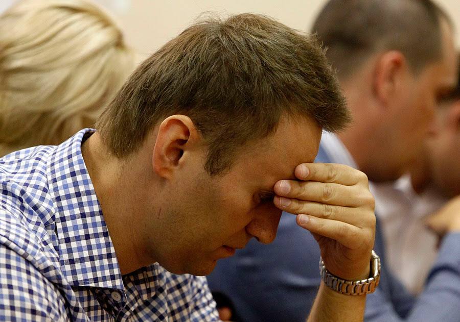 Navalny in the Leninsky Court in Kirov