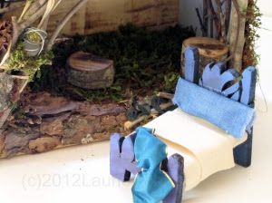 bed woodland fairy house