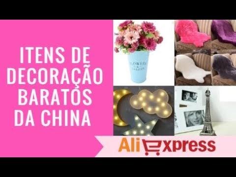 Vídeo: Itens de decoração