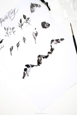 SUMI INK ART AND LETTERING- Inkstruck Studio