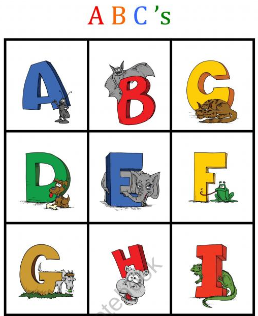 Bingo game abc