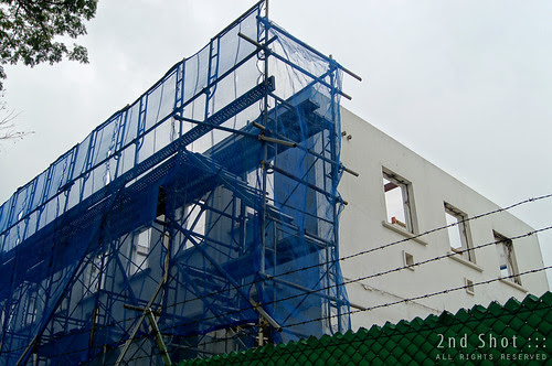 Old Jalan Kayu Post Office Demolition