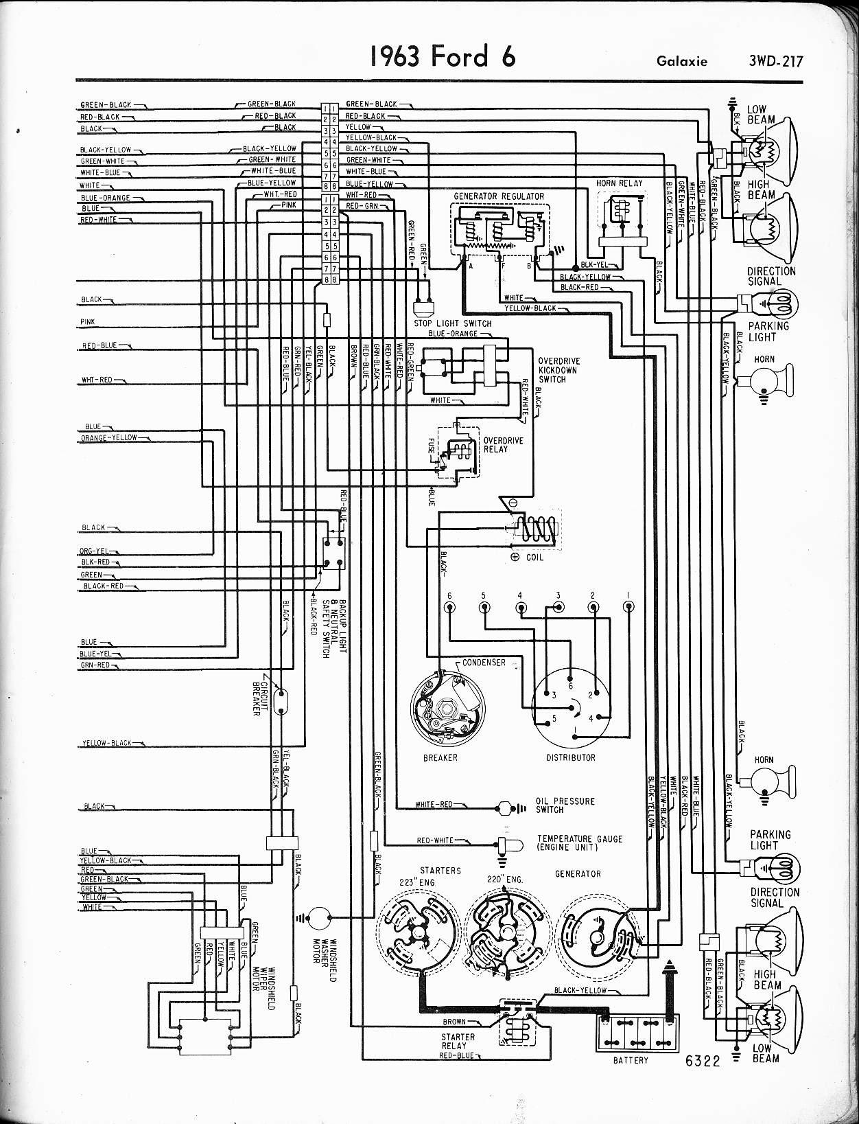 1964 Falcon Wiring Harnes