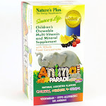 Animal Parade - Assorted Flavors by Nature's Plus 180 Chewable Tablets
