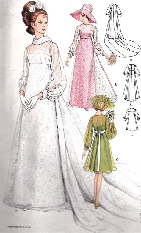 the60sbazaar: 1960s bridal designs   Brides vintage in