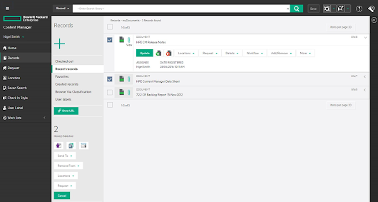 "Transform enterprise content management with the new ""HPE Content Manager"""