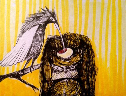 Bird Hoarder by Michelle Schamis