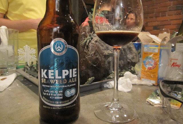 kelp seaweed ale-The Weirdest Beers in the World