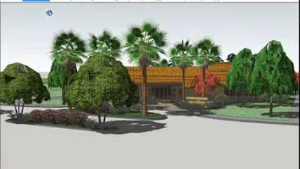 Land fx google for Garden design in 3d using sketchup