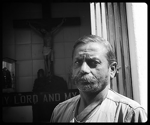 The Marathi Manoos Who Takes Care Of Jesus At Bandra Bazar Road by firoze shakir photographerno1