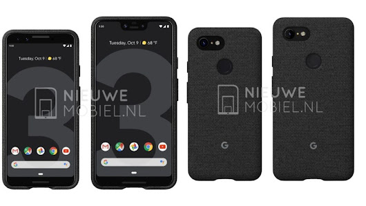 Google Pixel 3 and Pixel 3 XL Leak: New Set Of Official Press Renders