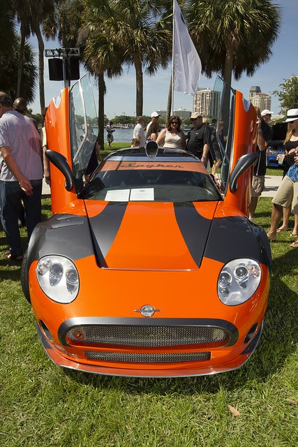 The Spyker LM85 at the show
