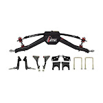 """GTW Club Car DS 6"""" Double A-Arm Golf Cart Lift Kit (Fits 2004.5 and Up, Gas or Electric)"""