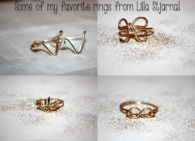 Some of my favorite rings from Lilla Stjarna