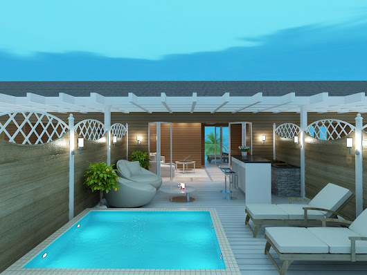 3D Renderings Turtle Cove - Turks and Caicos