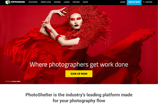 Charlie Raven thinks you'll love PhotoShelter - Refer-a-Friend Program