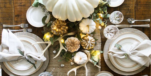 25 Best Thanksgiving Decorations - Stylish Thanksgiving Decor Ideas