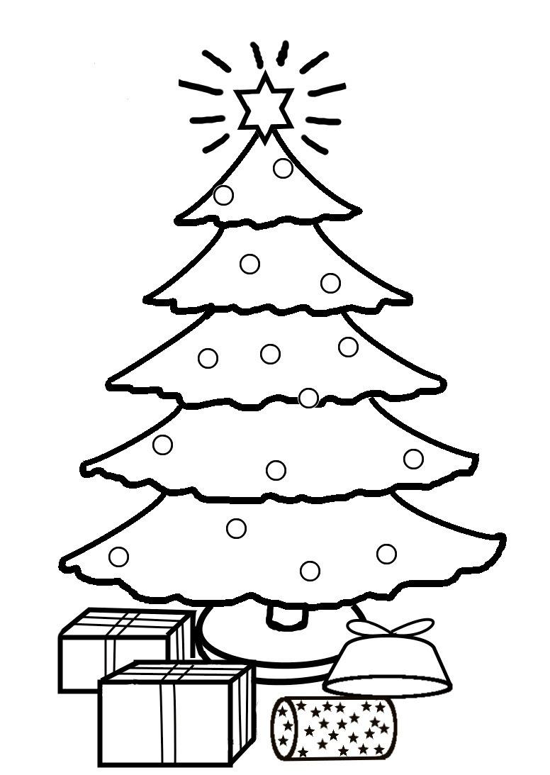 Christmas Tree Drawing Easy at GetDrawings | Free download