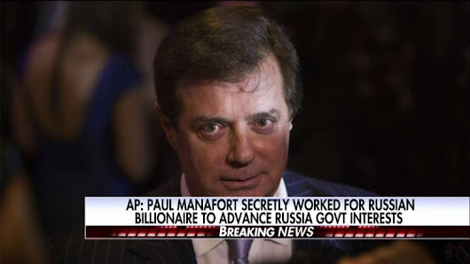 AP Reporter on Manafort Scoop: He Was 'Gun for Hire' to Advance Russian Interests