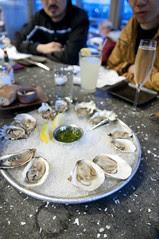 Oyster Bar Mix, Hog Island Oyster Co., Ferry Building Marketplace, San Francisco