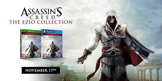 "Ubisoft sur Twitter: ""Relive Ezio's epic journey, from AC2 to Revelations, in one complete collection >>  