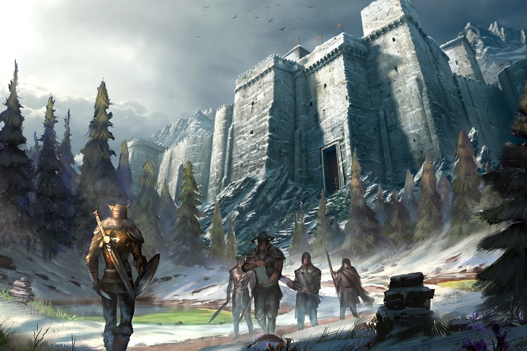 Eso Wallpaper The Elder Scrolls Online Wallpaper 37936108 Fanpop