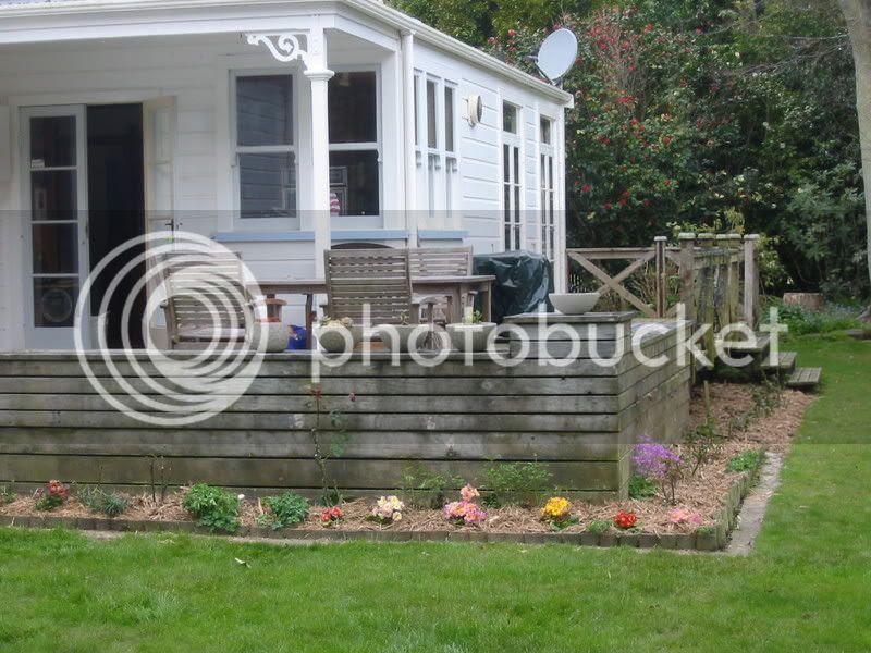 Mrs Llew's new garden