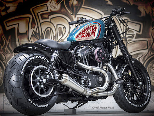 The Cancun 240. A Sportster Forty-Eight On A Budget.