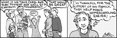 Home Spun comic strip #555