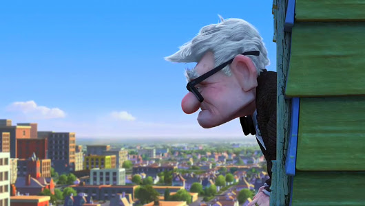 Carl Fredricksen, el protagonista de 'Up'