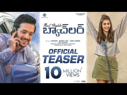 Most Eligible Bachelor Telugu Movie Teaser