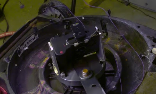Chronos 1.4 Survives 180Gs of Force Strapped on Mower Blade! - Hi Speed Cameras