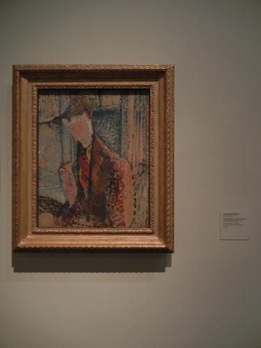 DSCN7923 _ Reverie (Study for the Portrait of Frank Burty Haviland), 1914, Amedeo Modigliani (1884-1920), LACMA