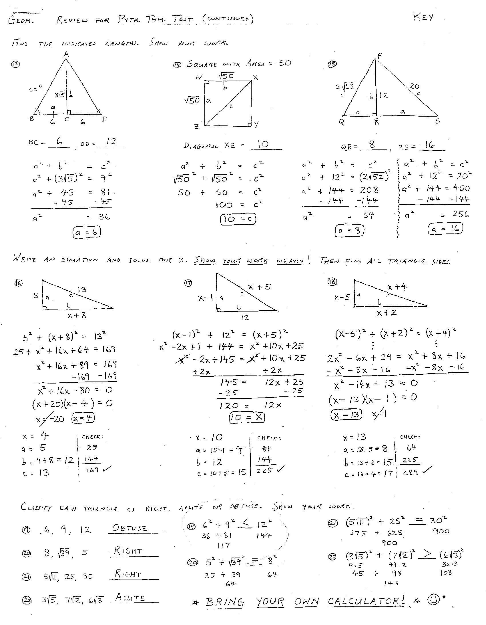 30 Triangle Congruence Worksheet Answer Key Worksheet Project List