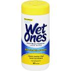 Wet Ones Antibacterial Hand Wipes, Citrus Scent - 40 count