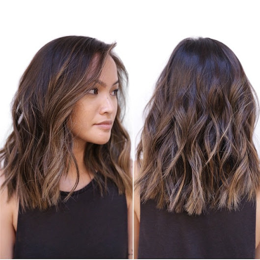 10 Latest Medium Wavy Hair Styles for Women: Shoulder Length Haircuts 2018