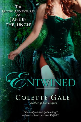 Entwined (The Erotic Adventures of Jane in the Jungle: Part 1) by Colette Gale