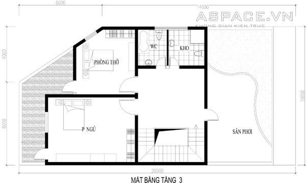 Tư vấn thiết kế nhà ở kết hợp kinh doanh trên đất 10x20m | 4