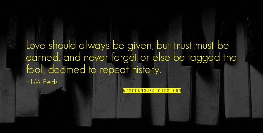 Trust Is Earned Not Given Quotes Top 12 Famous Quotes About Trust